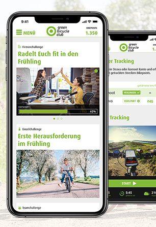 Neue Features in der App: Challenges und erweiterte Tracking-Funktionen